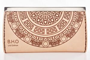 Laser Engraved Leather Wallet