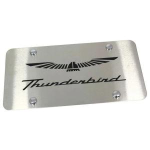 Laser Engraved Thunderbird Metal Plate