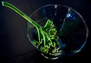Laser Cut Perspex Swizzle Stick