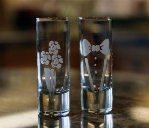 Engraving onto Shot Glasses