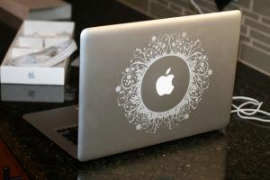 Engraving onto MacBook