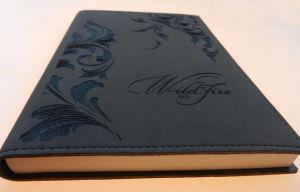 Engraving onto Leather Diary