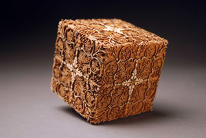 Engraved Pattern Cube