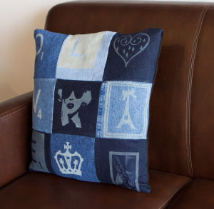 Engraved Pillow Casing