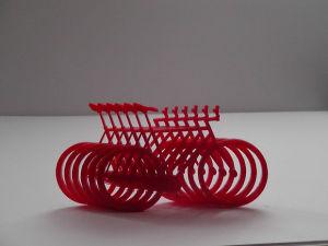 Laser Cut Perspex Bicycles